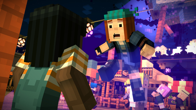 Minecraft: Story Mode - A Telltale Games Series Screenshot 1