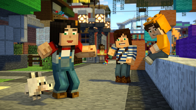 Minecraft: Story Mode - Season Two Screenshot 1