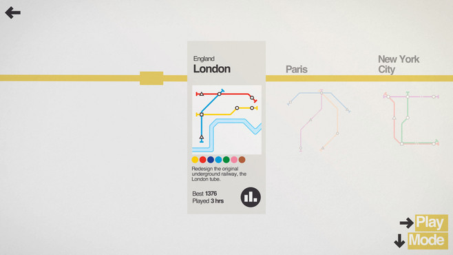 Mini Metro Screenshot 3