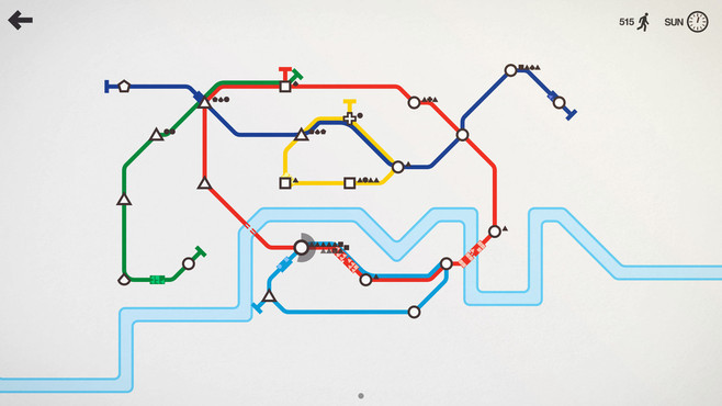 Mini Metro Screenshot 1