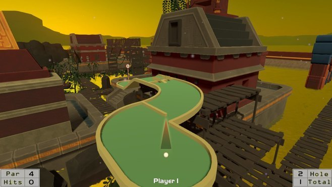 MiniAdventureGolf Screenshot 1