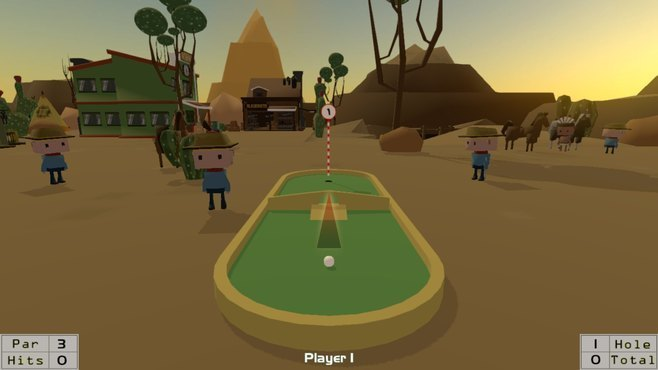 MiniAdventureGolf Screenshot 2