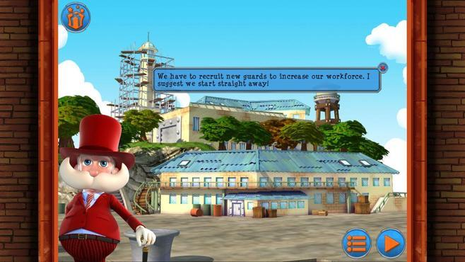 Monument Builders: Alcatraz Screenshot 1
