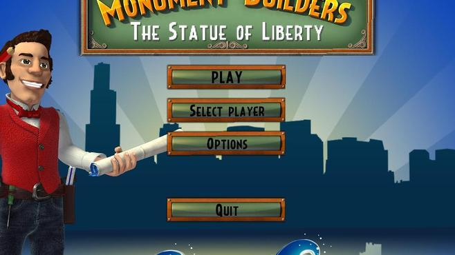 Monument Builders: Statue of Liberty Screenshot 1