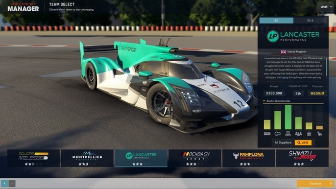 Motorsport Manager - Endurance Series Screenshot 4