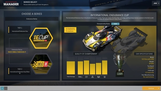 Motorsport Manager - Endurance Series Screenshot 5