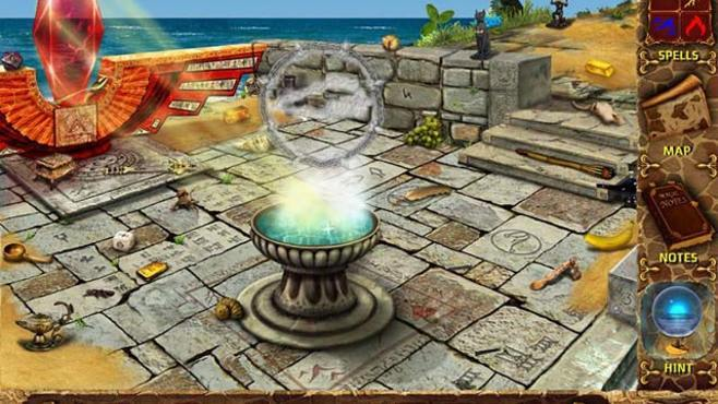 Mysteries of Magic Island Screenshot 1
