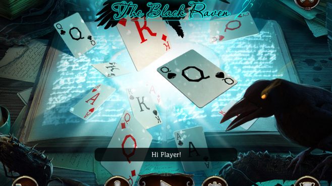 Mystery Solitaire The Black Raven Screenshot 2