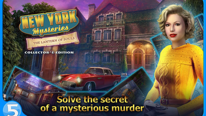 New York Mysteries: The Lantern of Souls Collector's Edition Screenshot 1