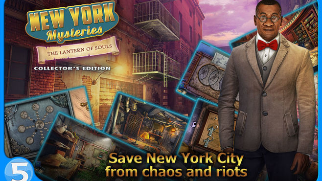New York Mysteries: The Lantern of Souls Collector's Edition Screenshot 5