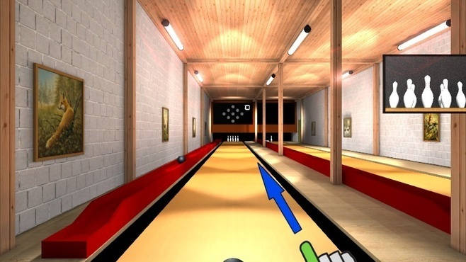 Ninepin Bowling Simulation Screenshot 1