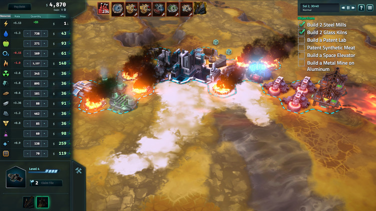 Offworld Trading Company: Jupiter's Forge Expansion Pack Screenshot 3