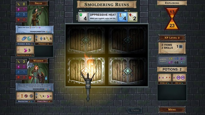 One Deck Dungeon - Forest of Shadows Screenshot 3