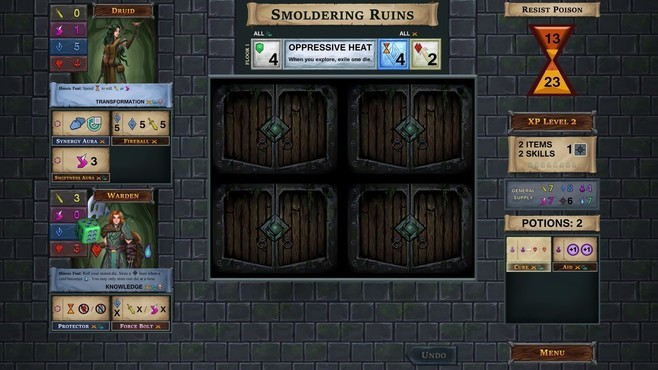 One Deck Dungeon - Forest of Shadows Screenshot 5