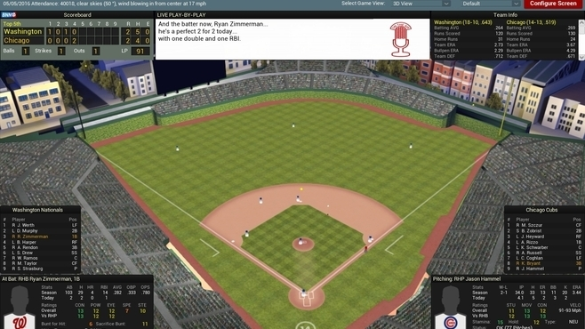 Out of the Park Baseball 17 Screenshot 8