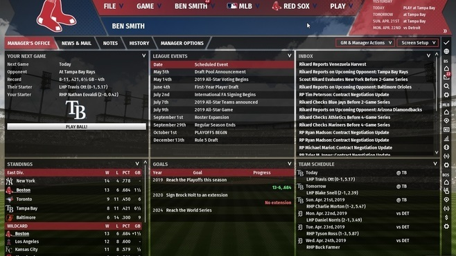 Out of the Park Baseball 20 Screenshot 12