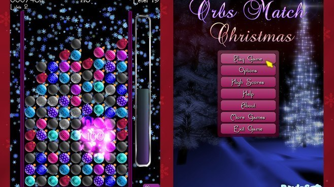 Orbs Match Christmas Screenshot 3