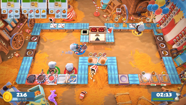 Overcooked! 2 - Carnival of Chaos Screenshot 4