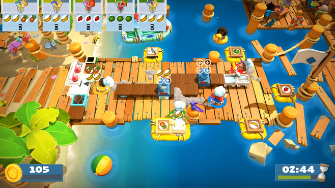 Overcooked! 2 - Surf 'n' Turf Screenshot 2