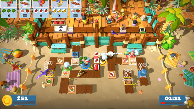 Overcooked! 2 - Surf 'n' Turf Screenshot 3