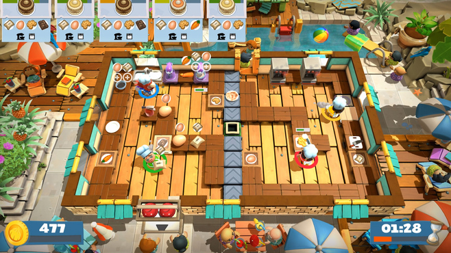 Overcooked! 2 - Surf 'n' Turf Screenshot 4