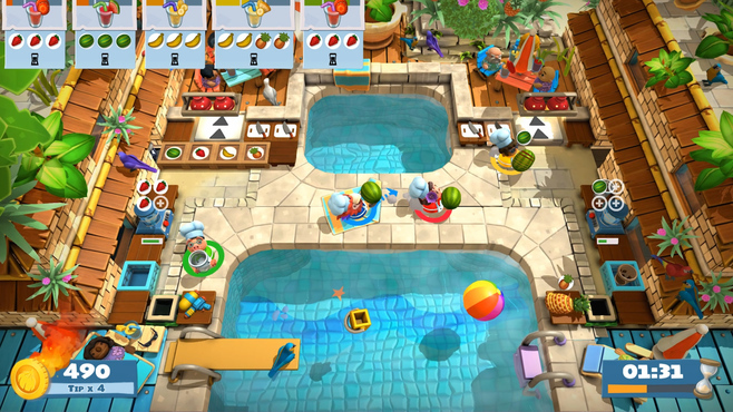 Overcooked! 2 - Surf 'n' Turf Screenshot 7