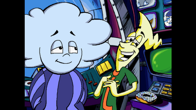 Pajama Sam 2: Thunder and Lightning Aren't So Frightening Screenshot 2