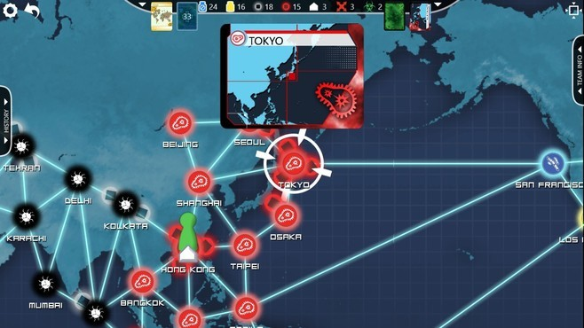 Pandemic: The Board Game Screenshot 5