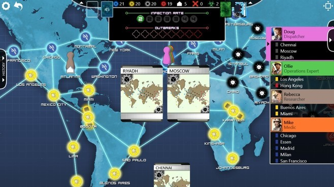 Pandemic: The Board Game Screenshot 17