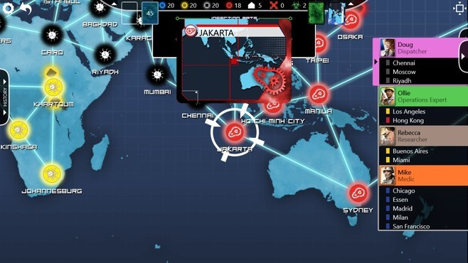 Pandemic: The Board Game Screenshot 19