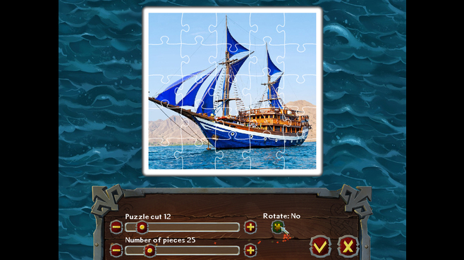 Pirate Jigsaw Screenshot 2