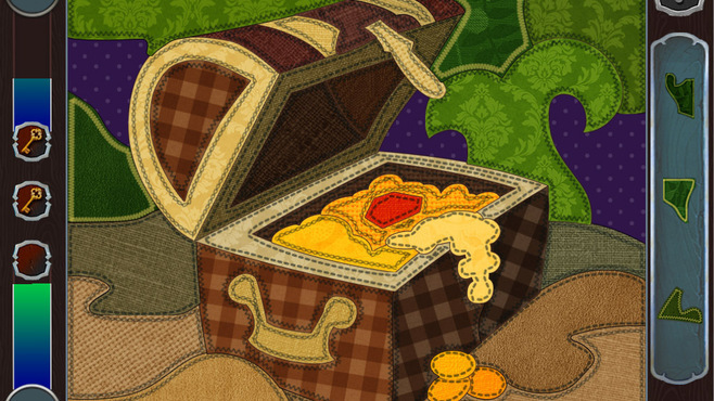 Pirate Mosaic Puzzle: Caribbean Treasures Screenshot 2