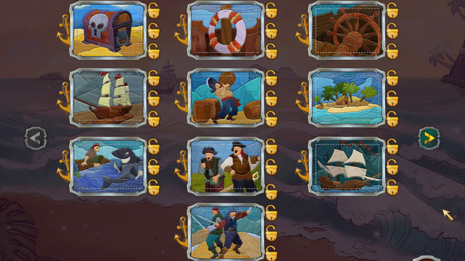 Pirate Mosaic Puzzle: Caribbean Treasures Screenshot 7