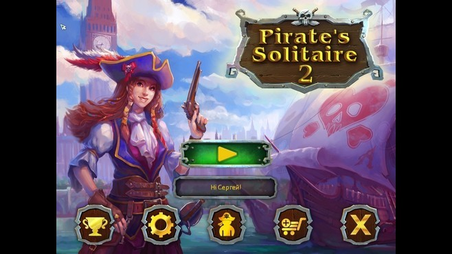 Pirate's Solitaire 2 Screenshot 1