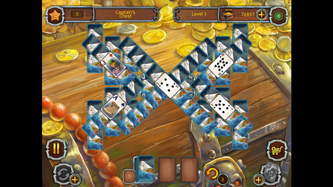 Pirate's Solitaire 2 Screenshot 3