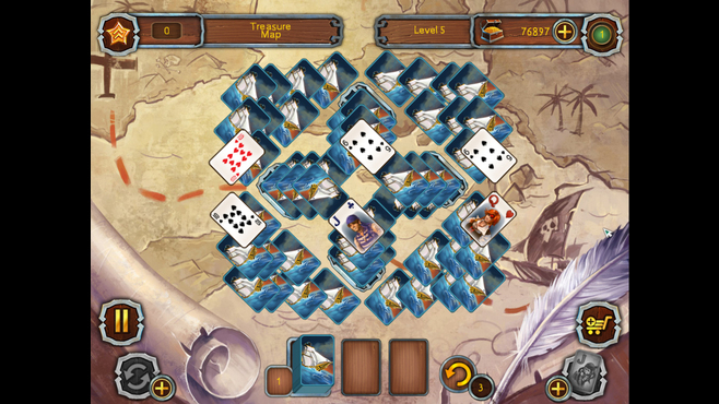 Pirate's Solitaire 2 Screenshot 2