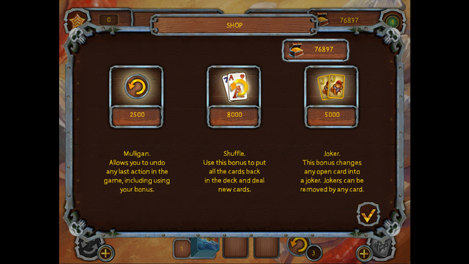 Pirate's Solitaire 2 Screenshot 7