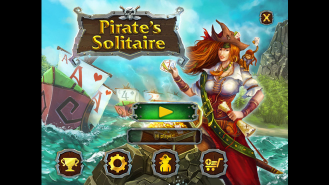 Pirate's Solitaire Screenshot 1