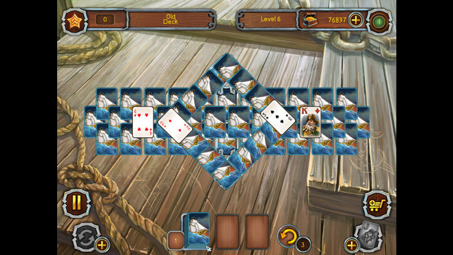 Pirate's Solitaire Screenshot 2