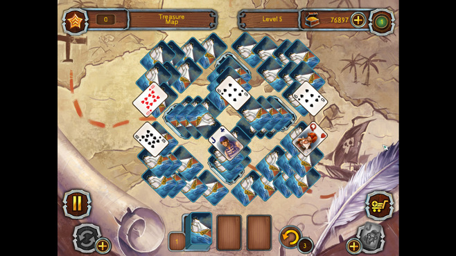 Pirate's Solitaire Screenshot 3