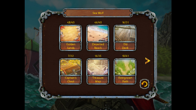 Pirate's Solitaire Screenshot 6