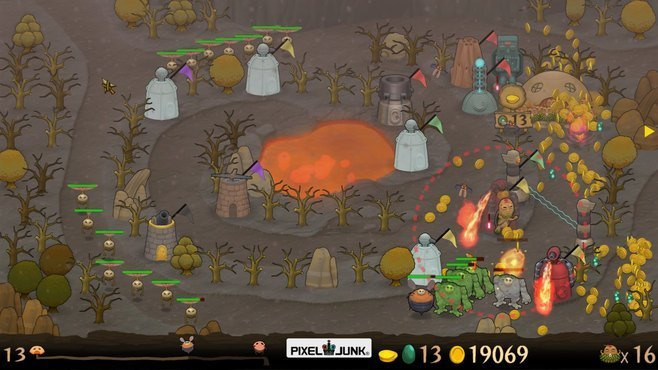 PixelJunk Monsters Screenshot 2