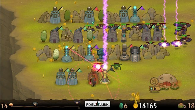 PixelJunk Monsters Screenshot 3