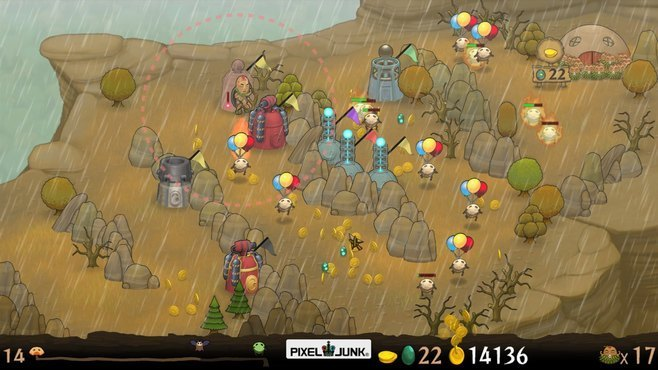 PixelJunk Monsters Screenshot 4