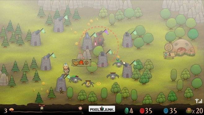 PixelJunk Monsters Screenshot 7