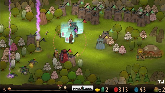 PixelJunk Monsters Screenshot 9