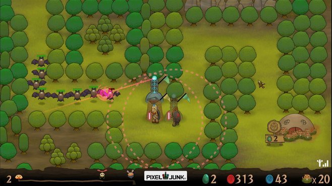 PixelJunk Monsters Screenshot 10