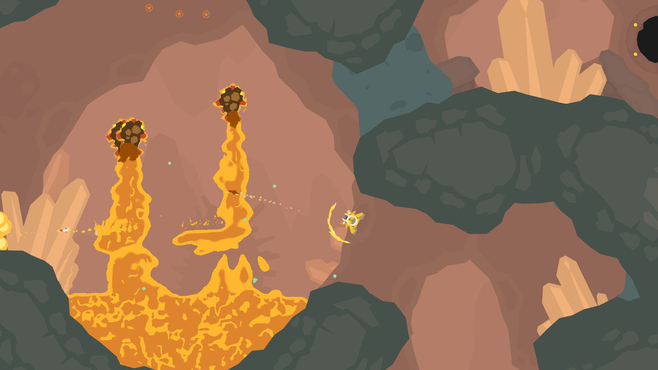 PixelJunk Shooter Screenshot 2