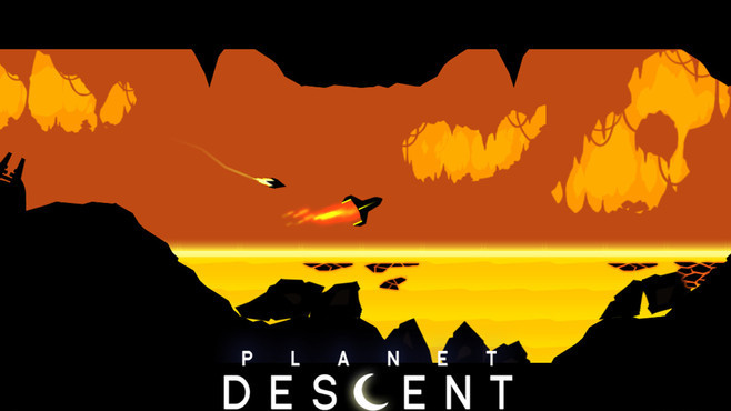 Planet Descent Screenshot 2