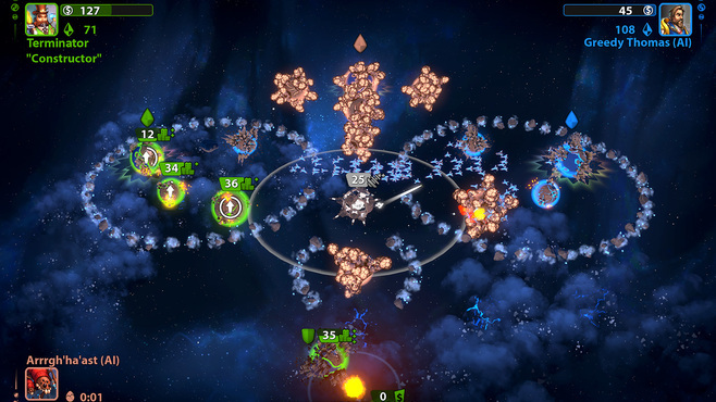 Planets under Attack Screenshot 4